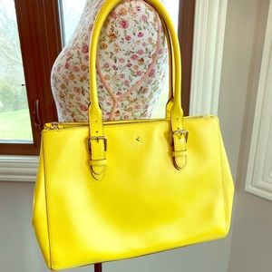Kate spade bright yellow large bag